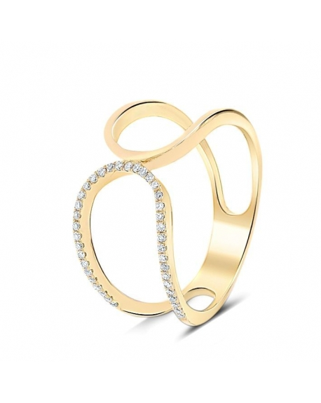 Prater Ring in 18k Yellow Gold