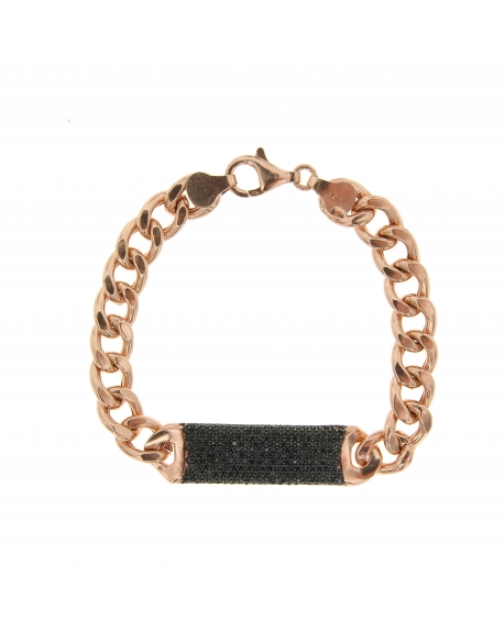 Essential Black ID Bracelet