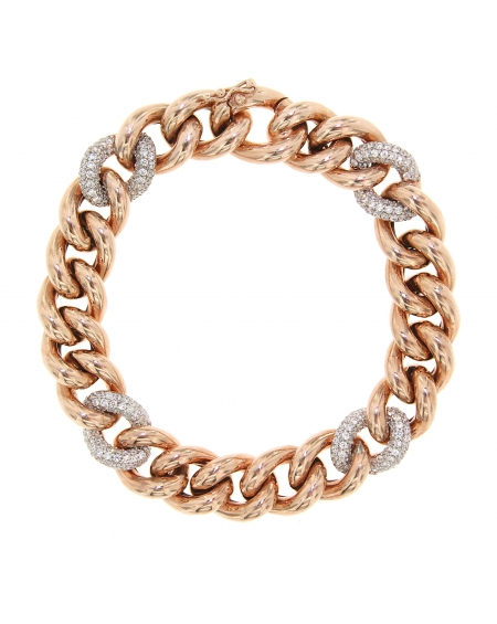 Essential 4-Link Rose Bracelet