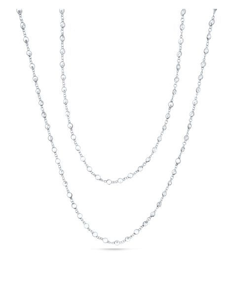 SM Swarovski Long Necklace