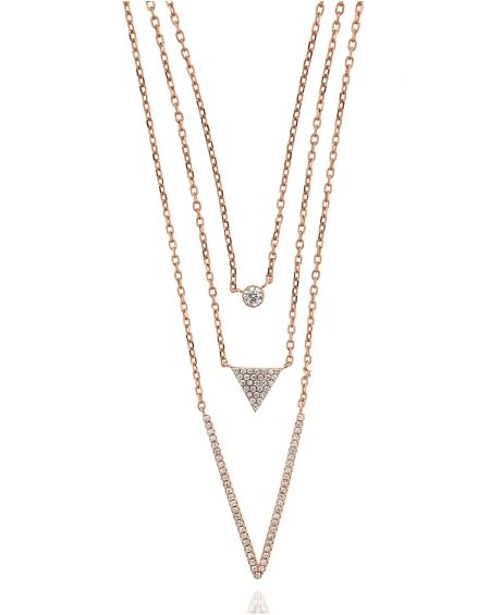 Three Strand CZ Necklace