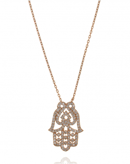 Hamsa Hand Small Necklace