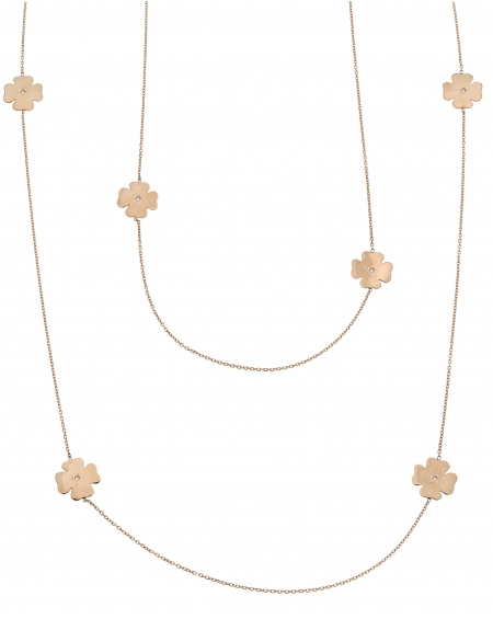 Clover Station Necklace