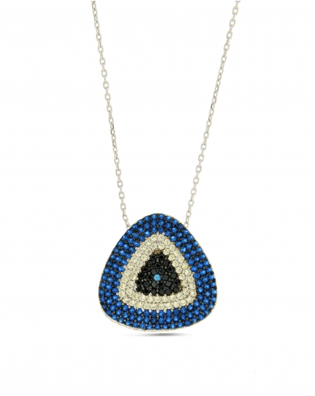 Triangle CZ Necklace