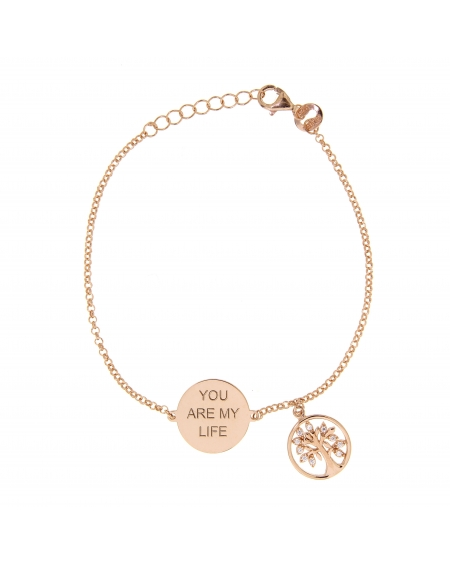 Sterling Silver You are my Tree of Life Bracelet