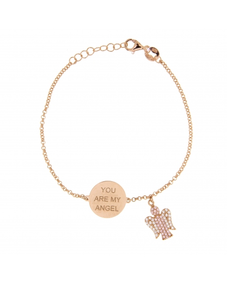 Sterling Silver You are my Angel Bracelet
