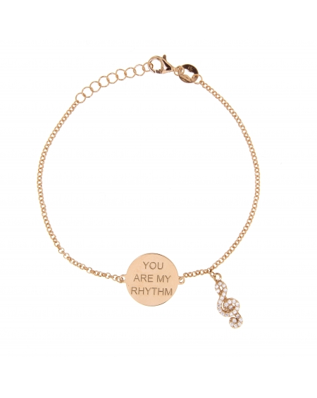 Sterling Silver My Musical Note Bracelet