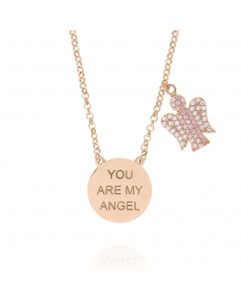 Sterling Silver My Angel Necklace
