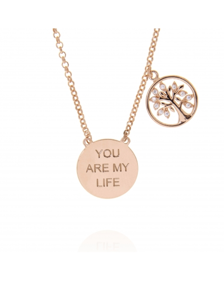Sterling Silver You are my Tree of Life Necklace